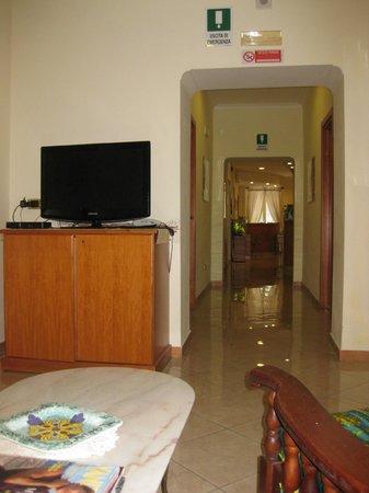 Hotel Zara: TV room