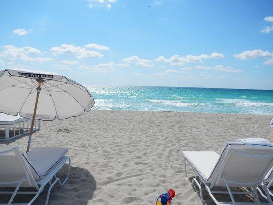The Raleigh Miami Beach: Most beautiful beach