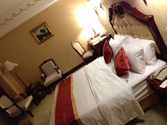 Mingcheng International Hotel : Comfortable and clean.