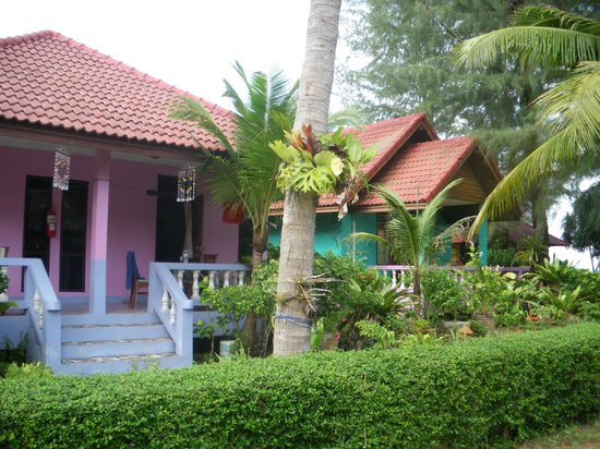 Lanta Villa Resort : les bungalows