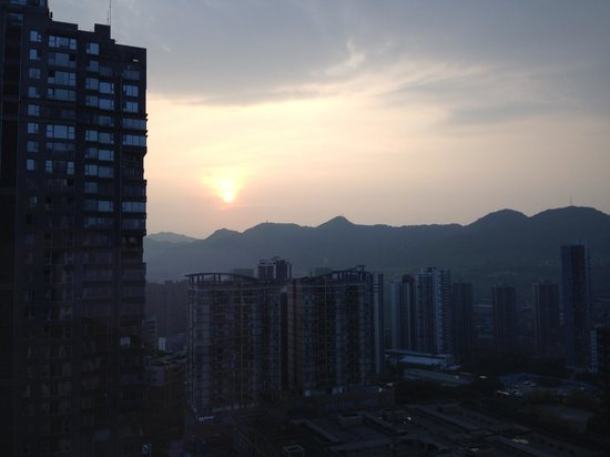 Le Meridien Chongqing Nan'an: Early morning viev.
