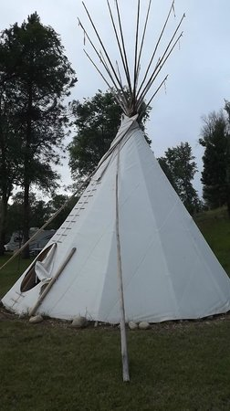 Pine Near RV Park & Campground: Tipi