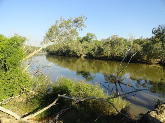 Mary River Wilderness Retreat & Caravan Park: Walk along the Mary River