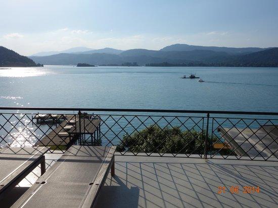 Hotel Linde: balcony