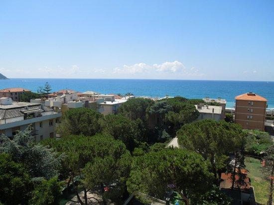 Hotel Mediterraneo : Aussicht aus dem Zimmer im 4. Stock