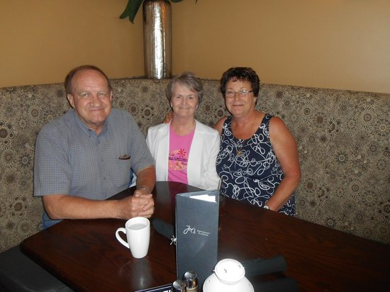 293 Wallace Street Restaurant: My cousin, his wife, and me on my 67th!