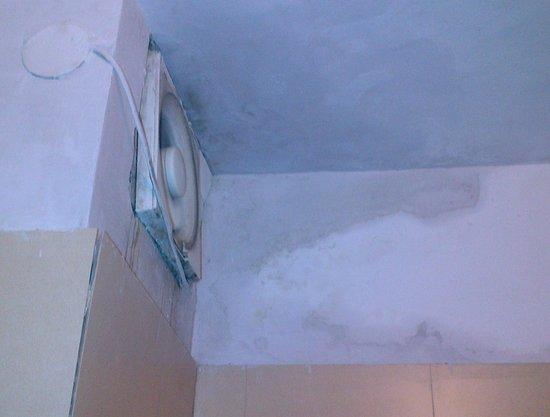 Mussoorie Gateway: Bathroom wall
