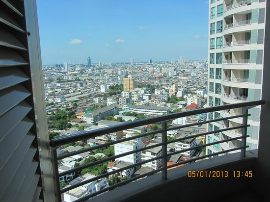 Anantara Sathorn Bangkok Hotel: From our balcony
