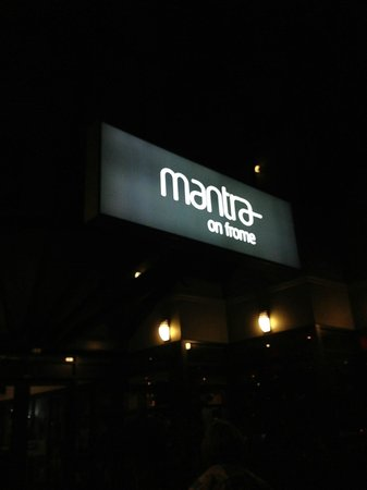 Mantra on Frome: Entrance