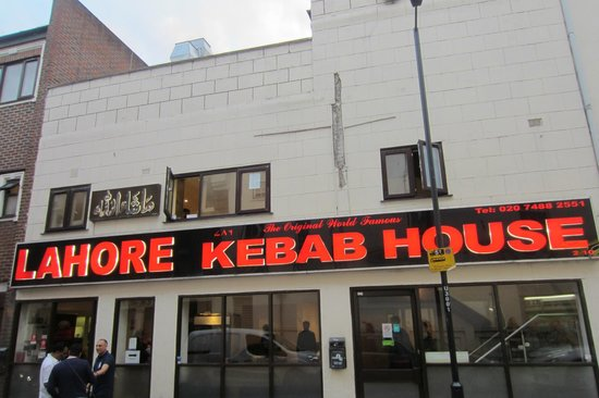 Front Of Restaurant Picture Of Lahore Kebab House