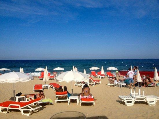 Mahi-Plage: The beach