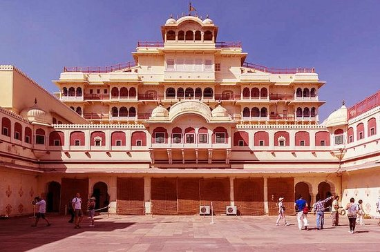 City Palace Jaipur Picture Of The Pinkcity Holidays Private Day