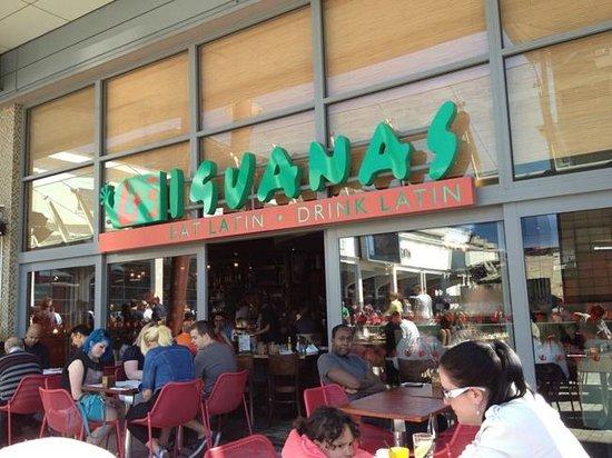 Las Iguanas: Good atmosphere