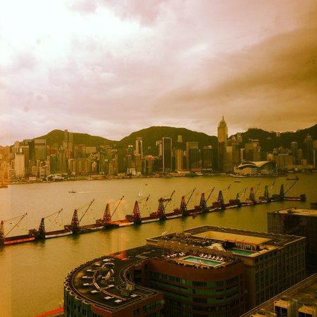 Hotel ICON: View of Victoria Harbour