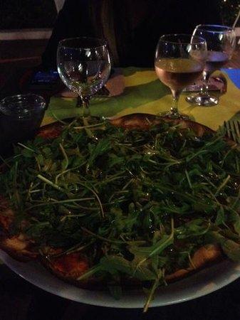 Entre 2: superbe pizza
