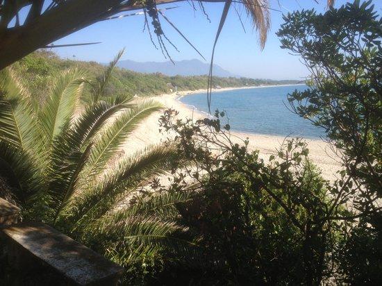 Bagheera Naturist Holiday Resort : Bagheera. Blick vom Restaurant zum (FKK) Strand