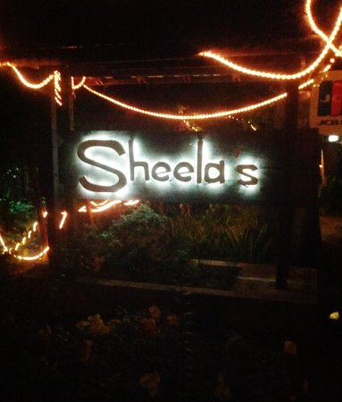 Sheela's : The entrance