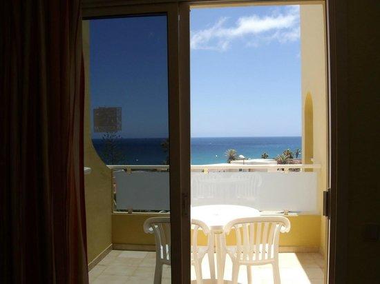 Morasol Atlantico: la terrazzina vista dalla sala