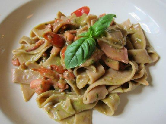 Osteria Picciarello Pasta with squid