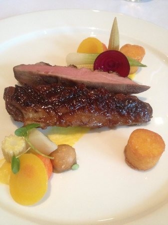 Landhuishotel & Restaurant De Bloemenbeek: Duck