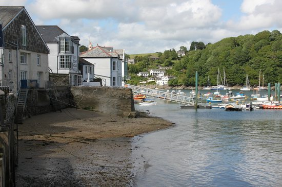 The Fowey Hotel: View in the town