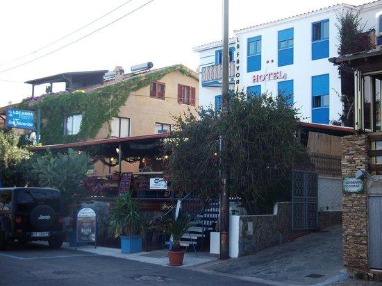 Hotel La Favorita and restaurant