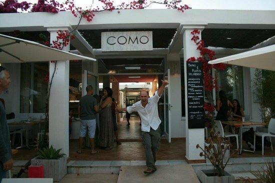 COMO Restaurant: Menno @ Como Ibiza