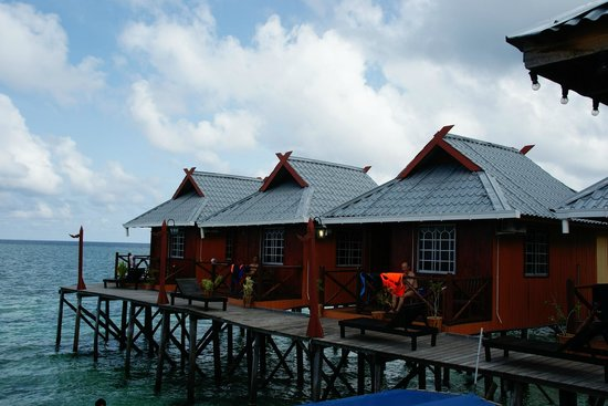 ‪‪Pulau Mabul‬, ماليزيا: Billabong Chalet At Mabul Island‬