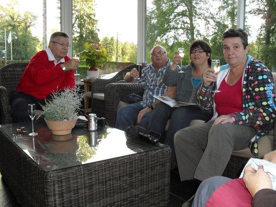 Au Fou du Roy: aperitief in de veranda