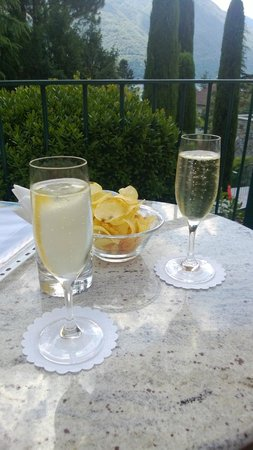 Parco San Marco Lifestyle Beach Resort: Cocktail di benvenuto