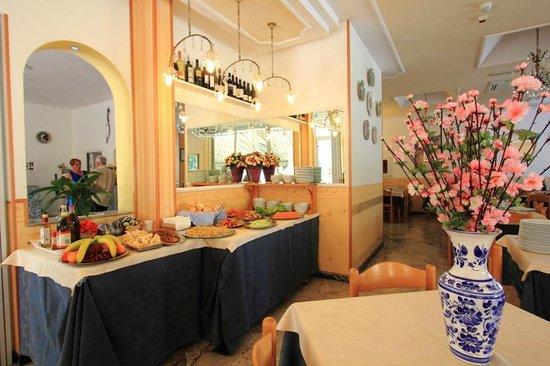 Hotel Moby Dick: La sala da pranzo