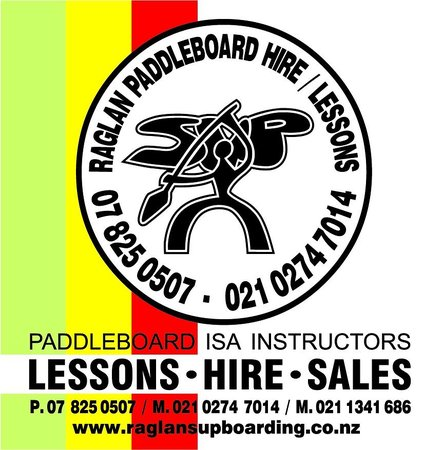 Raglan Paddleboarding: logo