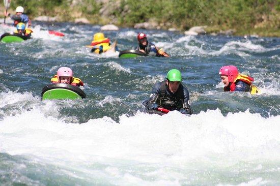 Heidal Rafting Day Trips: Riverboarding