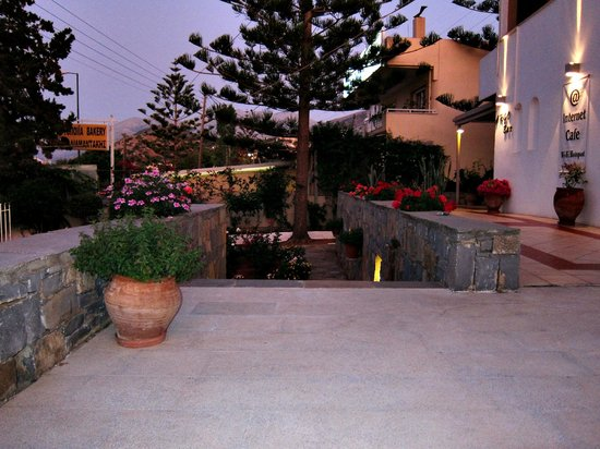 Σολάρις Κρήτη Ξενοδοχείο Διαμερίσματα: Сад