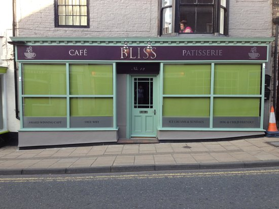 Bliss Cafe: New bliss premises