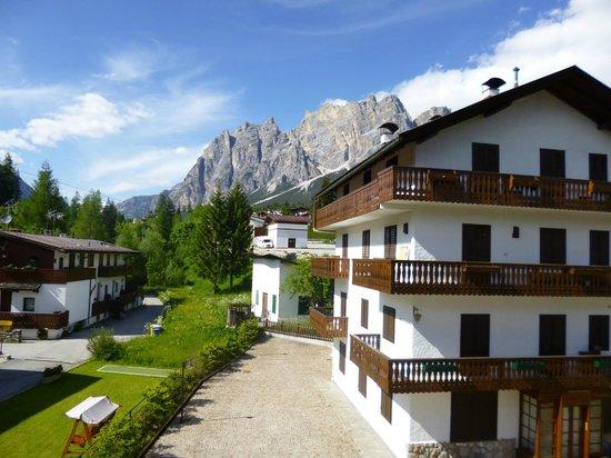 Sport Hotel Cortina - Famiglia Barisetti: View from room
