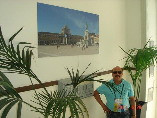 Residencial Estrela de Arganil: entrance of hotel
