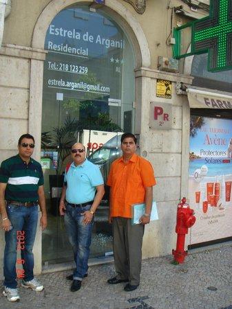 Residencial Estrela de Arganil: Gate can be missed