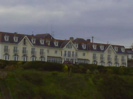 Back of Bayview Hotel from the Harbour