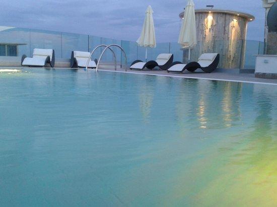 Hotel L'Approdo: piscina panoramica 3° piano