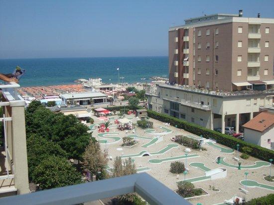 Hotel Cristallo: vista