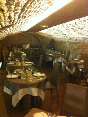 Caveau des Arches : une salle