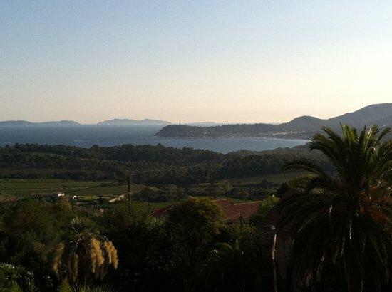 L 'Orangeraie Parc Hotel: Aussicht vom Zimmer