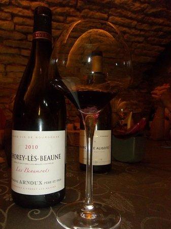 Caveau des Arches : un vin rouge dégusté : parfait