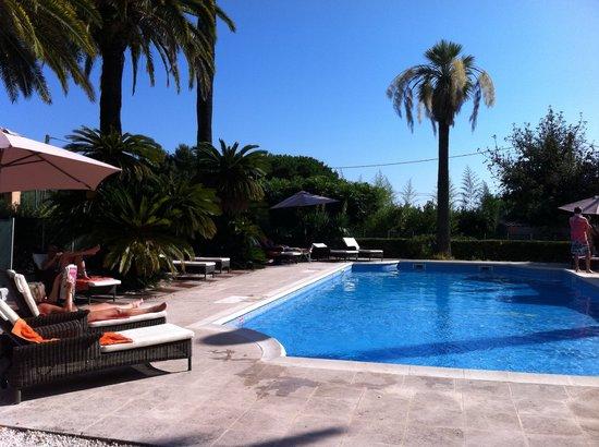 L 'Orangeraie Parc Hotel: herrlicher Pool