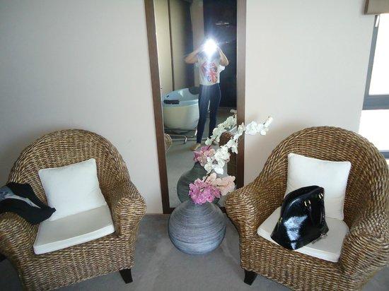 Regina Maria Spa Design Hotel: nice mirror