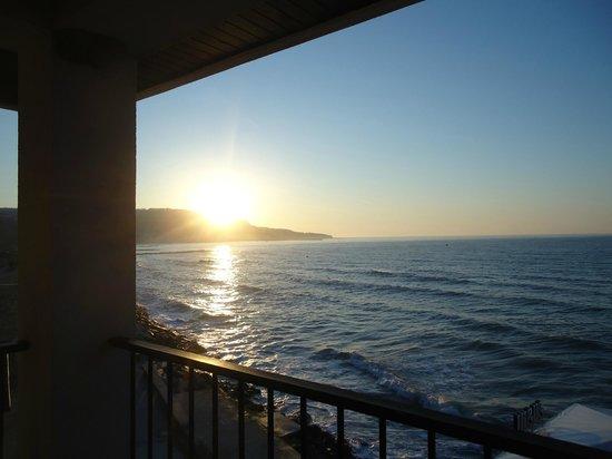 Regina Maria Spa Design Hotel: sun rise from the room