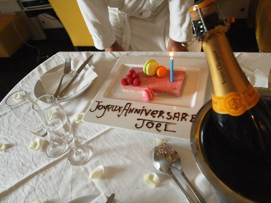 Hotel & Ryads Barriere Le Naoura: surprise gift from the hotel!