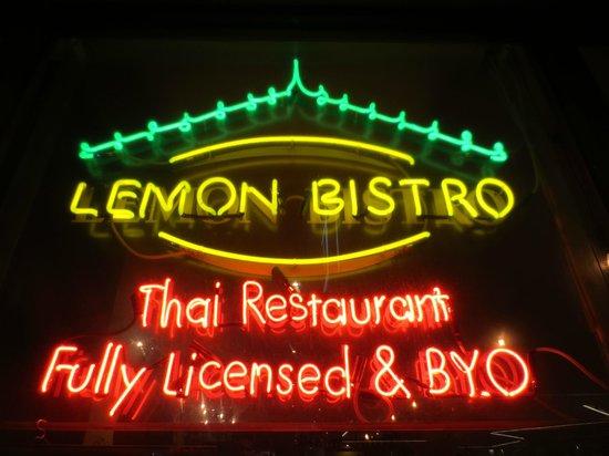 Lemon Bistro: Authentic Thai flavours