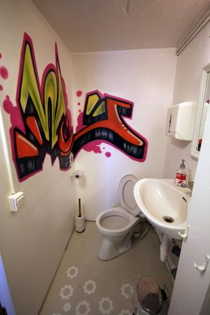 The Little Guesthouse by the Ocean : Kooky Toilet!